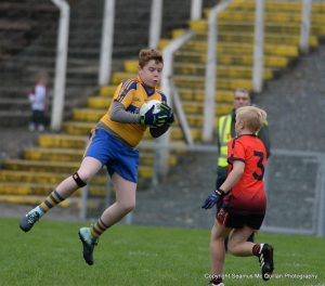 Truagh score in injury time to win